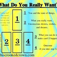What Do You Really Want? - See what your unconscious desires are. A 4 tarot oracle card reading by professional psychic · This Crooked Crown · Online Store Powered by Storenvy Rider Waite Tarot Cards, Tarot Cards For Beginners, Tarot Card Spreads, Tarot Astrology, Oracle Tarot, Tarot Card Meanings, Card Reading, Tarot Decks, At Least