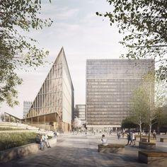 Nordic . Rambøll . SLA . New government headquarters . Oslo (1)