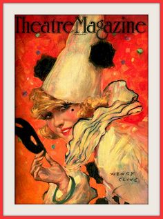 Dec 1920 Theatre Magazine    Cover Illustration by   Henry Clive