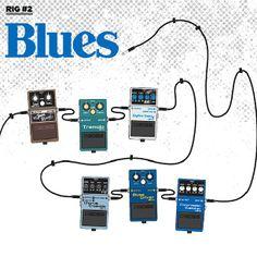 Blues Guitar Effects Combo