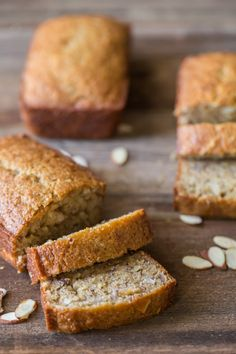 Healthier Banana Bread - Our favorite banana bread made with Greek yogurt, coconut oil, and white whole wheat flour. Coconut Flour Bread, Banana Nut Bread, Healthy Banana Bread, Coconut Oil, Baking Recipes, Bread Recipes, Brunch Recipes, Scone Recipes, Nutrient Rich Foods