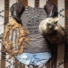 ☮ American Hippie Bohemian Style ~ Boho .. Summer Festival Outfit!