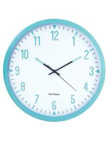 Salt&Pepper Zone Round Clock, 44cm, Blue product photo