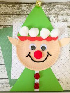 Christmas crafts for kids - Christmas Elf Paper Plate Craft for Kids – Christmas crafts for kids Kids Crafts, Paper Plate Crafts For Kids, Daycare Crafts, Toddler Crafts, Preschool Crafts, Creative Crafts, Simple Crafts, Classroom Crafts, Preschool Ideas