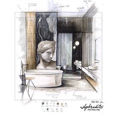 Интерьер @veevinci #sketch #sketches #interior #design #concept #sketching #perspective #interiorsketch #interiordesign #перспектива #интерьер #скетчинг #скетч #дизайн #маркеры #скетчингмаркерами