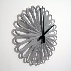 Paraclocks: concrete cast clocks