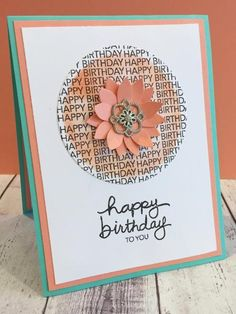 A Simple Birthday ~ Using the December Stampin' Up Paper Pumpkin kit stamps.
