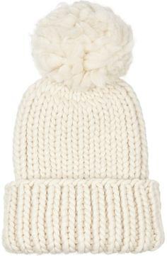 White Beanie by Eugenia Kim. Buy for $225 from NET-A-PORTER.COM