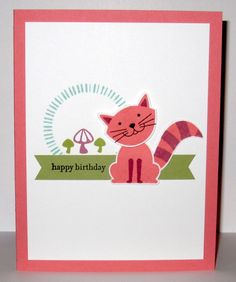 Cheshire Cate by Christy S. - Cards and Paper Crafts at Splitcoaststampers
