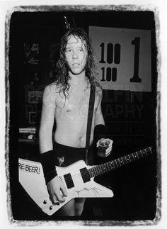 Ross Halfin Photography - Metallica James playing The 100 Club London.
