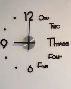 Wall Clock Decor Living Room 645281452846931926 - 2019 Upgraded Super Big new Wall Clock Acrylic Metal Mirror Super Big Personalized Digital Wall Watches Clock Source by Cheap Wall Decor, Wall Stickers Home Decor, Diy Wall Decorations, Bedroom Wall Stickers, Easy Wall Decor, Diy Wall Decor For Bedroom, Creative Wall Decor, Kitchen Wall Stickers, Creative Walls