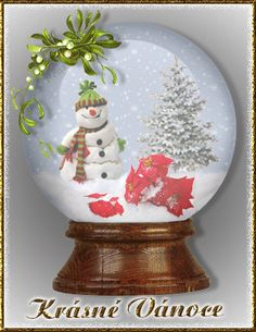 Gify Nena Christmas And New Year, Snow Globes, Home Decor, Xmas, Moving Pictures, Decoration Home, Room Decor, Home Interior Design, Home Decoration