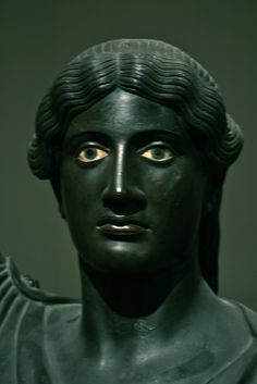 Deep Eyes, Fresco, Archeological Museum of Naples