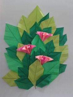 My first #diy #origami #flower ♥