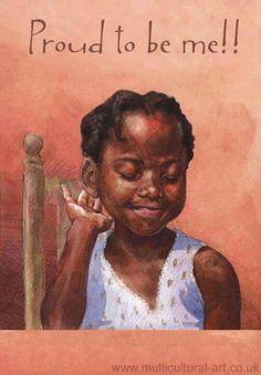 Beautiful little black girl