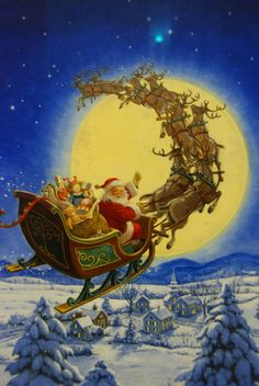 Clement Moore's Poem: 'A Visit From Santa Claus' ('Twas the Night Before…