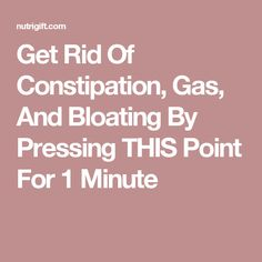 acupressure how to get rid of gas burping