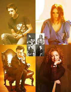 DOCTOR WHO the FAB 4 I love how they are all fancy then there's Rory and it's just perf