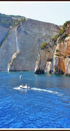 Zakynthos, West coast. Greece