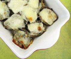 Mozzarella Baked Artichokes