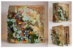 Hi, Friends!!! This is a Victorian inspired mini album that I did for someone who has tons of photos of her two beautiful cats and needed a place to store th...