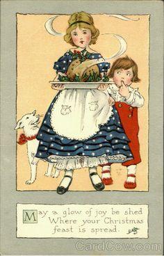 §§§ : christmas greeting : ca.1900