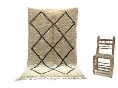 5x8 SOFT Moroccan decor Beni ourain Moroccan Traditional Rug Moroccan berber rug Azilal Beni ourain rug Kilim Teppich Tapis Rugs