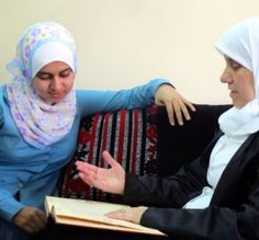 hijabi opens islamic school for women in #syria #hijab #inspire