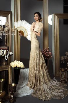 Filipiniana Wedding Gown Best Of Filipiniana Wedding Dress Luxury Pin by Sunshine Aguinaldo Debut Gowns, Debut Dresses, Gala Dresses, Prom Party Dresses, Dresses Art, Occasion Dresses, Modern Filipiniana Gown, Filipiniana Wedding Theme, Wedding Gowns