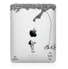 The Giving Tree iPad decal - precious! @Estefanía Alberttis This made me think of Clay!!