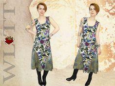 Maxikleider - Kleid  **ALLEssi** Jerseykleid - ein Designerstück von WLTT-Fashiondesign bei DaWanda