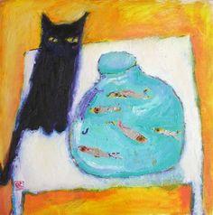 Vanessa Cooper paintings - adding her to my wish list!