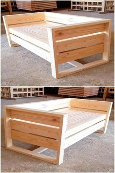 The last 50 wood recycling pallet furniture projects # Wood furniture .- Die letzten 50 Holzrecycling-Palettenmöbelprojekte The last 50 wood recycling pallet furniture projects # Wood Furniture - Recycled Pallet Furniture, Pallet Furniture Designs, Diy Outdoor Furniture, Furniture Plans, Rustic Furniture, Furniture Market, 50 Diy Furniture Projects, Furniture Movers, Pipe Furniture