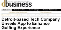 Detroit-based Tech Company Unveils App to Enhance #Golfing Experience  #Innovative #Mobile #Golf #App