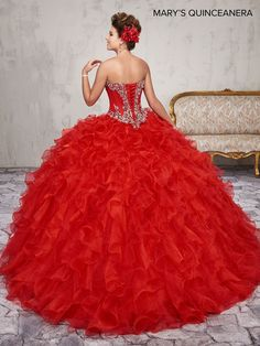 Two Piece Quinceanera Dresses, Quinceanera Collection, Mary's Bridal, Fantasy Gowns, Quince Dresses, Tulle Gown, Dress Collection, Couture Collection, Ball Gowns