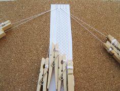 Hele Stitch Ground / Torchon Ground - Hoe maakte u dit?   Luxe DIY