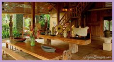 awesome Variations on a theme Bali home design