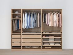 PAX white stained oak effect, Corner wardrobe, cm - IKEA Pax Wardrobe, Wardrobe Storage, Ikea Pax Corner Wardrobe, Ikea Wardrobe Hack, Ikea Closet Hack, White Wardrobe, Dressing Pax Ikea, Pax Planer, Armoire D'angle