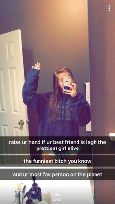 VSCO - gracefowles—-Shout our to my best friend Brooklyn ♥️(added my Kylie)*hand raised* Cute Relationship Goals, Cute Relationships, Girl Facts, Cute Texts, Cute Friends, Snap Friends, Best Friend Goals, To My Best Friend, Best Friend Humor