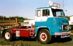 1964 Scania-Vabis LB76 Kamyon.