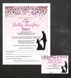 Daddy-Daughter Dance Father and Daughter by jjinspirationstudio