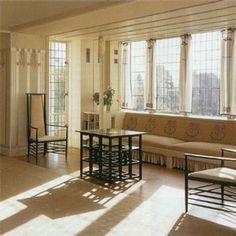 The Hill House, Charles Rennie Mackintosh