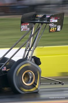 The forces in effect on a Top Fuel Eliminator are amazing!