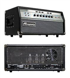 "Ampeg Classic SVT-VR.  Tube Preamp and Power Amp  300-Watts RMS @ 2 or 4 Ohms  Two Discrete Channels  Neutrik Speakon® and 1/4"" Output"