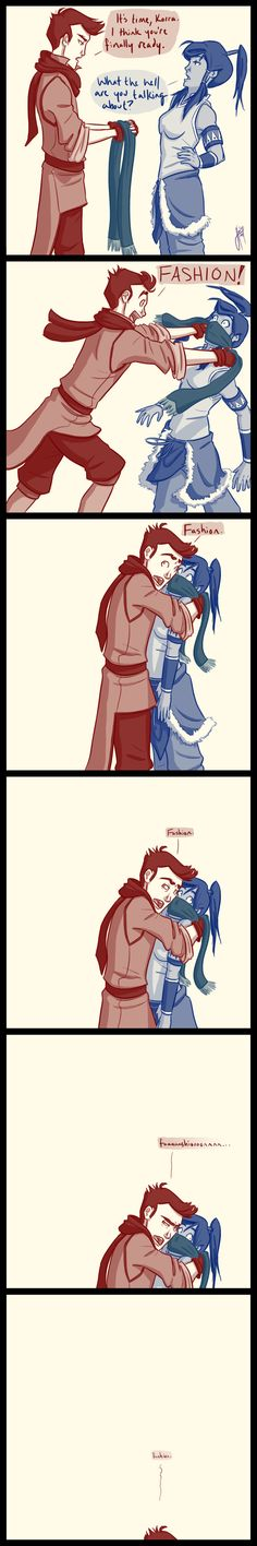 The Legend of Korra: FASHION! lol(Sorry for the curse word it's just to dang funny not to pin.)