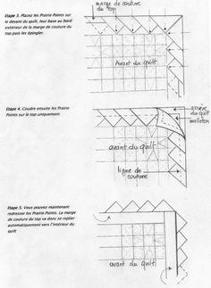 Prairie points tutorial - Finitions Prairie Points2