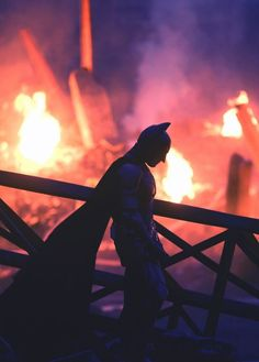 """""""He's the hero that Gotham deserves, but not the one it needs right now. Because he's not our hero. He's a silent guardian. A watchful protector. A Dark Knight. Batman Dark, Im Batman, Batman The Dark Knight, The Dark Knight Trilogy, The Dark Knight Rises, Hq Marvel, Marvel Dc Comics, Heros Film, Batman Christian Bale"""