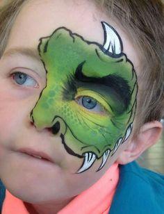 Quick monster half mask