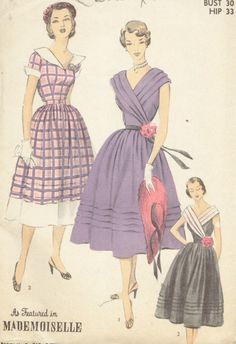 Advance 5851 vintage sewing pattern