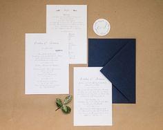"""Hochzeitseinladung """"sweet lavender"""", online bestellbar bei www.papierhimmel.com"""